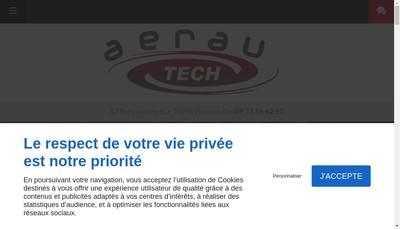 Site internet de Aerau - Tech