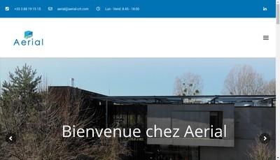 Site internet de Aerial