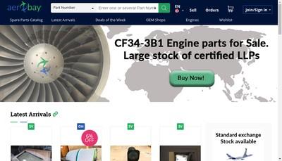 Site internet de Aerobay