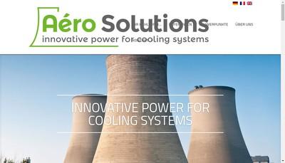 Site internet de Aero-Solutions