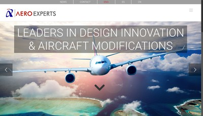 Site internet de Aero Experts