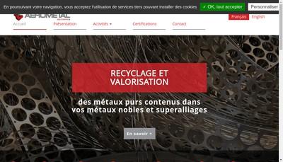 Site internet de Aerometal
