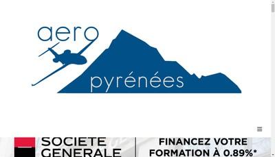 Site internet de Aeropyrenees
