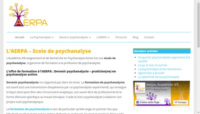 Site internet de AERPA