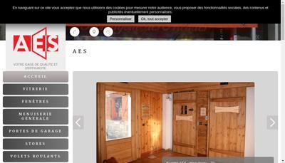 Site internet de Automatisme Electricite des Savoie - AES