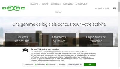 Site internet de Aexae