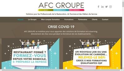 Site internet de Afc Groupe