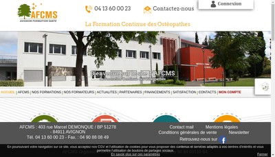 Site internet de Afcms