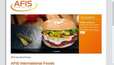 Site internet de Afis SARL
