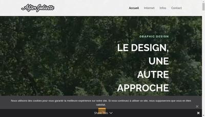 Site internet de After Juliette
