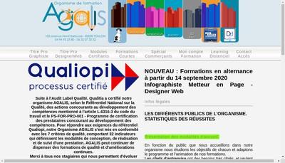 Site internet de Agalis