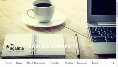 Site internet de Agalma Conseil