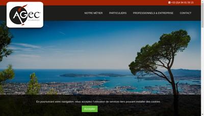 Site internet de Agec
