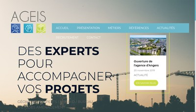 Site internet de Ageis