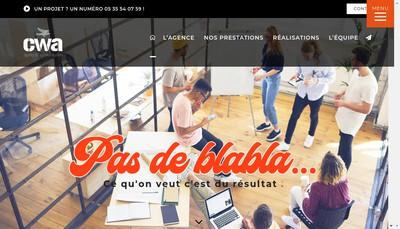 Site internet de Concept Webagency SARL