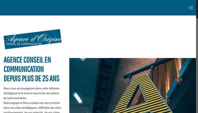 Site internet de Agence d'Origine