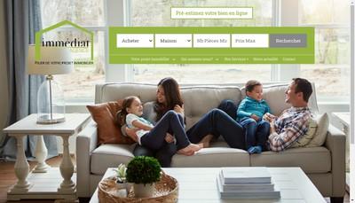 Site internet de Agence Immediat