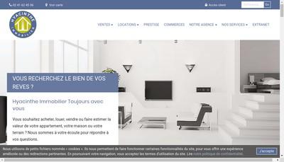 Site internet de Agence Hyacinthe Immobilier