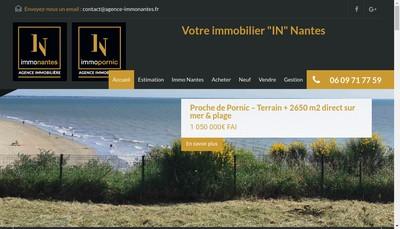 Site internet de Immo Nantes
