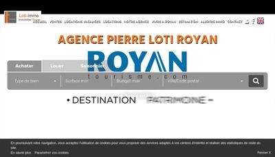 Site internet de AGENCE PIERRE LOTI