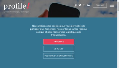 Site internet de Profile !