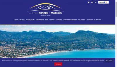 Site internet de Agence Arnaud