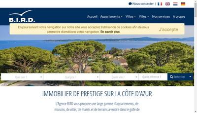Site internet de EURL Bird