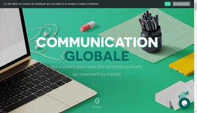Site internet de Agence Boom!