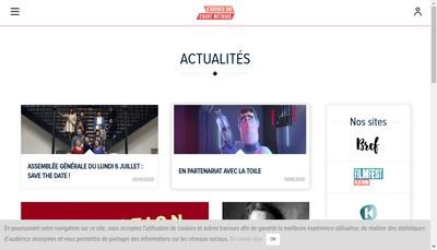 Site internet de Agence du Court Metrage