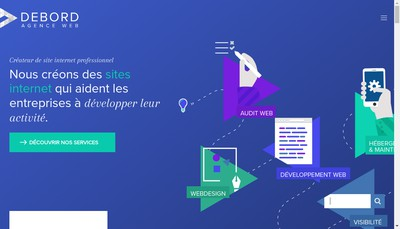 Site internet de Agence Debord EURL