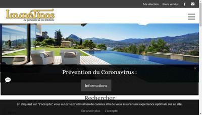 Site internet de SARL Immotions
