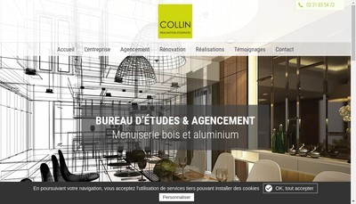 Site internet de Etablissements Collin