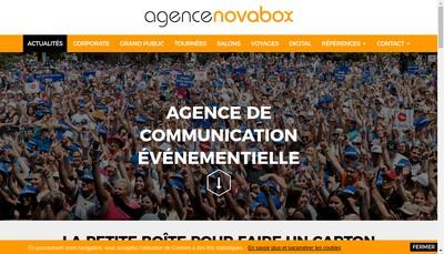 Site internet de Novabox