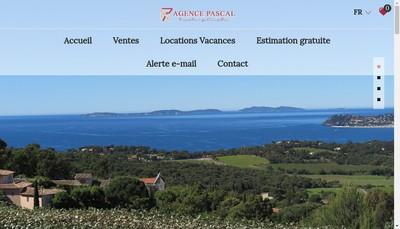 Site internet de Agence Pascal