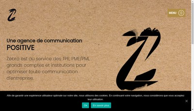 Site internet de Zebra Communication