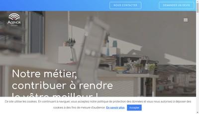 Site internet de AGENOR