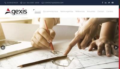 Site internet de Agexis