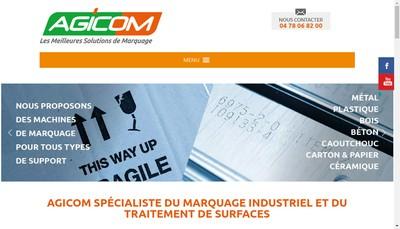 Site internet de Agicom