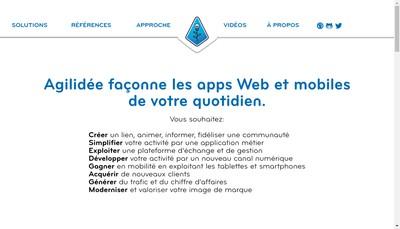 Site internet de Agilidee