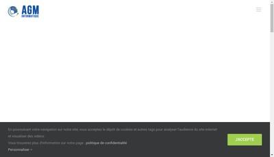 Site internet de Badgeage - AGM Informatique