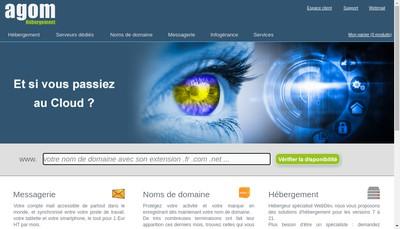 Site internet de Agom