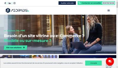 Site internet de Agoralys