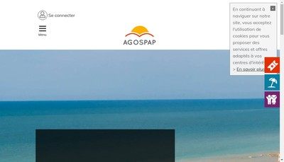 Site internet de Agospap