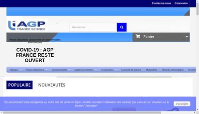 Site internet de Agp France Service