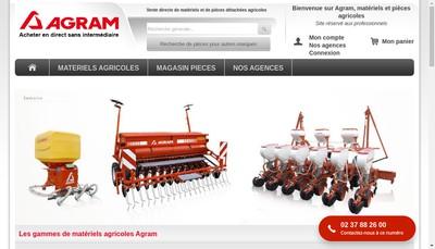 Site internet de Marques Agram et Oscagri