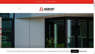 Site internet de Agrati France Ii
