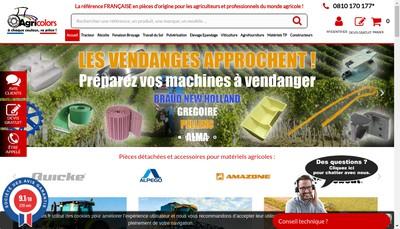 Site internet de Agrishop