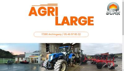 Site internet de Agri Large