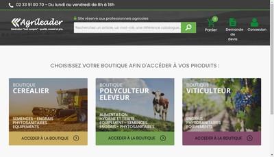 Site internet de Agrileader