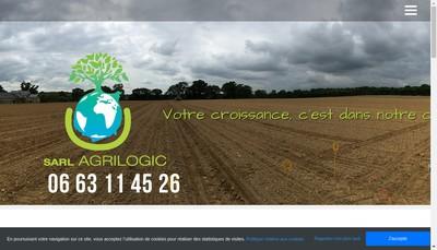 Site internet de Agrilogic